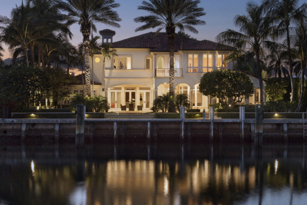 European Inspired Elegance Luxury Home Luxury Real Estate Waterfront Deepwater Dock South Florida Palm Beach County Pascal Liguori and Son Broker Associates