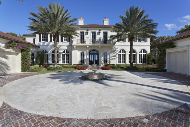 Luxury Real Estate Motor Court Pascal Liguori and Son Broker Associates Premier Estate Properties Palm Trees Mansion